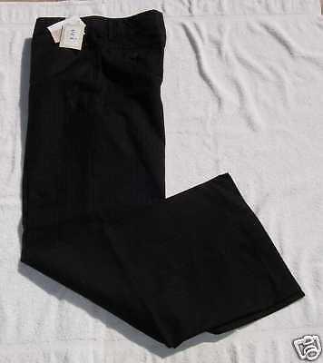 Eci Ladies Size 10 Black Pinstriped Dress Pants $79
