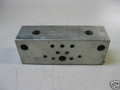 Valve Block Hyd 3500 Psi Max Working Press H01 H 01