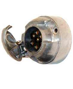 7-pin-METAL-SOCKET-trailer-towbar-caravan-horse-box-car