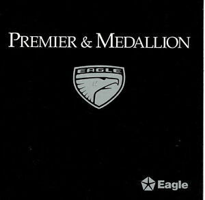 1988-89-Renault-Eagle-Medallion-Premier-Sales-Brochure