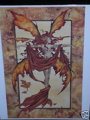 Amy Brown - Autumn Dryad - OUT OF PRINT