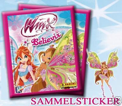 100 verschiedene Sticker WinX Club Believix von Panini online kaufen