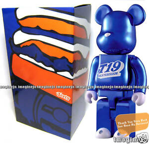 Japan-Medicom-T-19-400-Metalic-Blue-400-Be-rbrick-Bearbrick-figure