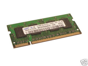 HP 530 512MB DDR2 PC2-5300 Laptop Notebook RAM Memory