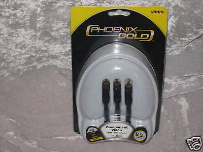 Phoenix Gold Hdtv Component Video Interconnect 6.5 Ft.