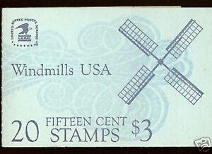 Scotts-Booklet-135-20-15c-WINDMILLS-MNH