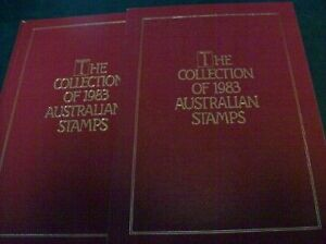 1983 Australia Post Year Book stamps in place MUH.