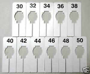 mens clothes closet hanger rack size dividers 30 50