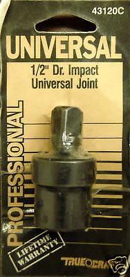 Truecraft 43120c 1/2 Dr. Impact Universal Joint