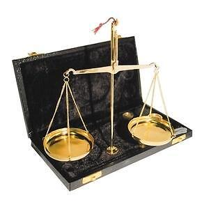 INDIAN BRASS SCALES 20G INCREMENTAL WEIGHTS BOXED