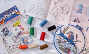 Webster Craft Punchneedle Embroidery Starter Kit