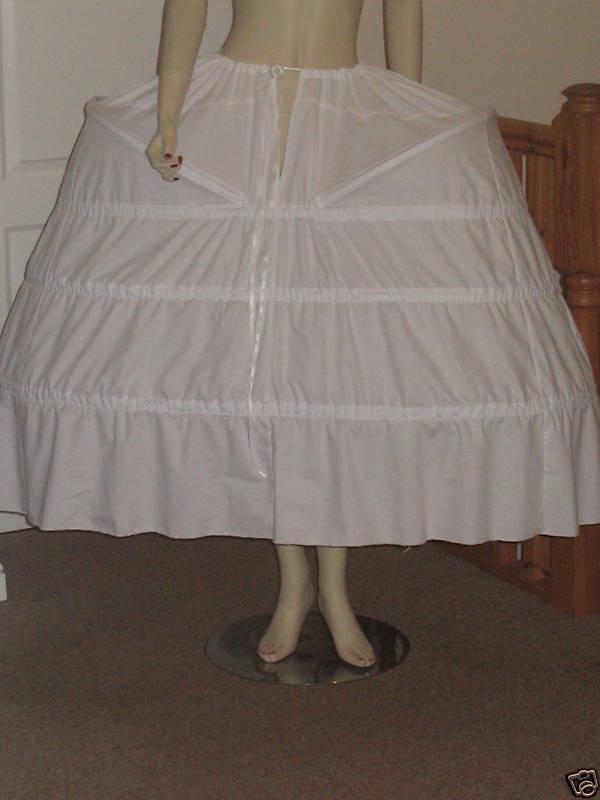 PANNIER PETTICOAT FOR BAROQUE / MARIE ANTOINETTE / 18th CENTURY  STYLE DRESSES