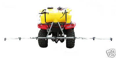 95 Litre Quad ATV Spot Sprayer System with 10' Boom