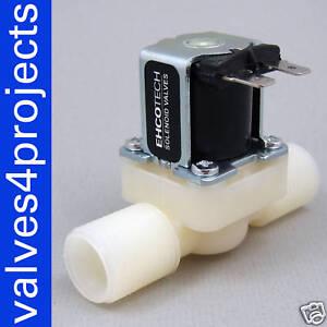 1-2-034-Gravity-Feed-Electric-Solenoid-Valve-12-volt-DDT-CD-12VDC-Plastic-Body-N-C