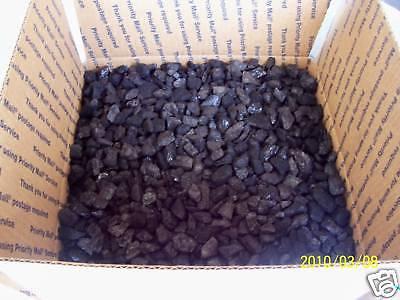 BITUMINOUS BLACKSMITH COAL METALLURGICAL COKING COAL 1/2 CUBIC FT ABOUT 25 LBs.