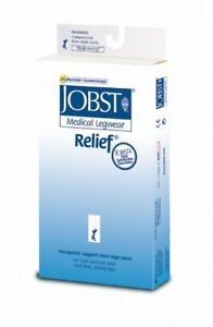 Jobst-Relief-Knee-High-15-20-Compression-mmhg-Closed-Toe-Stockings-supports
