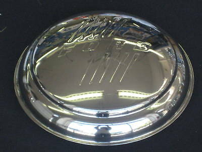 1946 Ford Passenger Hubcap Set Of (4) Stainless Steel