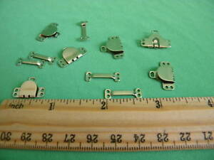 50 Sets  Skirts & Pants Hooks & Eyes~ Silver ~5/8