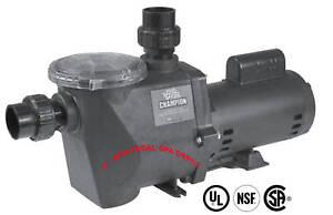 Waterway champion 56frame in ground pool pump 2hp 115 230v for Inground pool pump motor