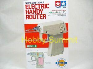 Tamiya Tool ELECTRIC HANDY ROUTER 1/48 1/35 1/12 1/16 1/24 1/350 Model Kit 74042