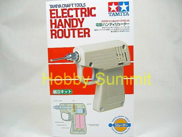 Tamiya Craft Tool ELECTRIC HANDY ROUTER 1/48 1/35 1/12 1/16 1/24 1/350 Model Kit