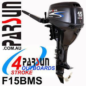 15HP-PARSUN-Outboard-4-stroke-Short-Shaft-BRAND-NEW-2yr-FULL-FACTORY-Warranty
