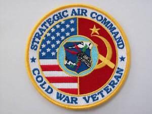 USAF (SAC) US AIR FORCE COLD WAR VETERAN PATCH