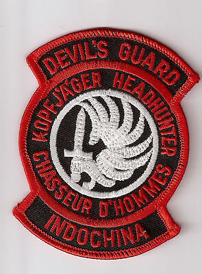 French Foreign Legion Patch - Devil's Guard Indochina