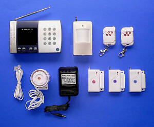 Advanced Wireless Home Security System W Auto-Dialler