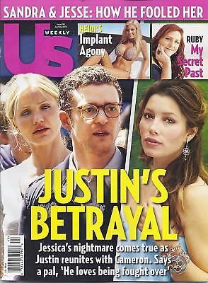 Us Magazine Justin Timberlake Jessica Biel Cameron Diaz Ellen Pompeo  Dwts Demin