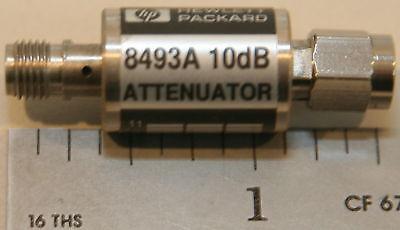 Agilenthp 8493a Coaxial Attenuator 10 Db Dc-12.4 Ghz