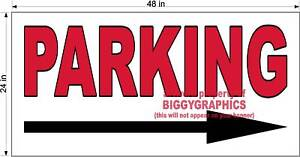 2-039-X-4-039-VINYL-BANNER-PARKING-DIRECTION-WITH-ARROW
