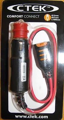 Ctek 56-263 Multi Us 7000 7002 3300 Charger Cigarette Lighter Adapter Cig Plug