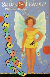 Shirley Temple In Masquerade Paper Doll Book Free Ship