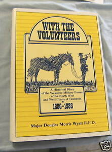 NN-MILITARY-BOOK-1886-1986-TASMANIA-VOLUNTEERS