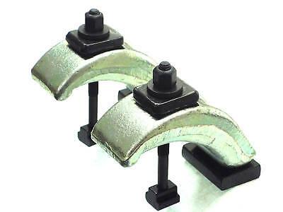 OREX   2 Spannpratze für T-Nute 8 mm, Spannwerkzeug, Spanneisen,T-Nutensteine