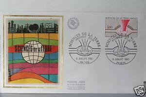 ENVELOPPE-PREMIER-JOUR-SOIE-SCIENCES-DE-LA-TERRE-1980