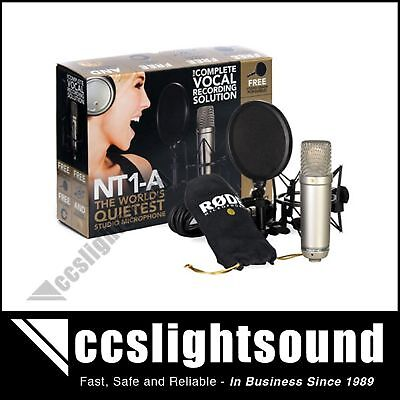 RODE-NT1-A-STUDIO-CONDENSER-MICROPHONE-RECORDING-SET