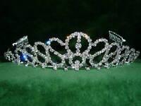 Nueva Novia/graduación Corona De Cristales Preciosos De Imitación - corona - ebay.es