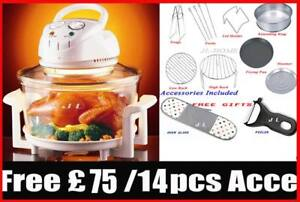 NEW-12L-17L-Halogen-Oven-Cooker-FREE-75-14PCS-GIFT-DHL