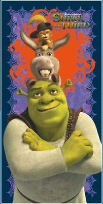 Shrek 3 Serviette De Plage 150 X 75 Cm