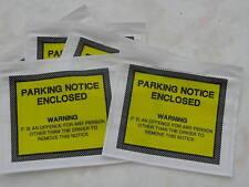 10 X Joke Fake Parking Ticket Stickers. Funny Trick Joke
