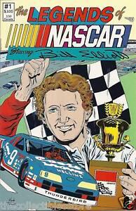 BILL-ELLIOTT-LEGENDS-OF-NASCAR-SIGNATURE-COMIC-BOOK