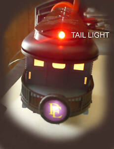 Red Led Tail Light Kit For The Lionel O 027 Polar Express