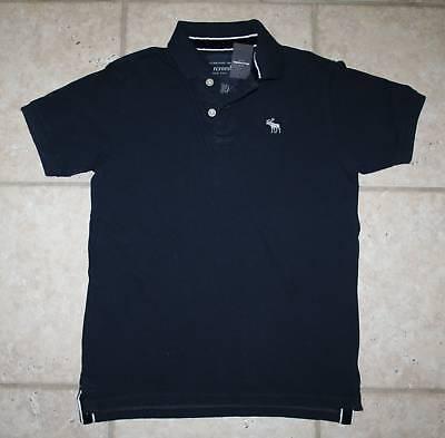 Abercrombie Boys Medium Navy Blue Polo Shirt