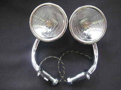 1930 1931 FORD COWL LAMPS 6 VOLT @ 20% OFF