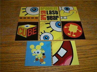 Nickelodeon Spongebob Squarepants 8 Stickers