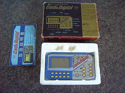 CARD-DIGITAL-FORTUNE-TELLER-HANDHELD-LCD-GAME-1980s