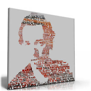 Bruce-Springsteen-Lyrics-A1-Canvas-print