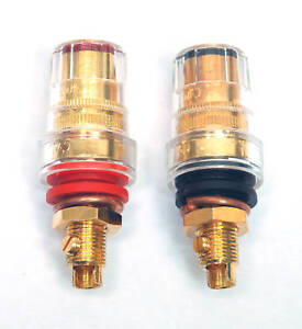 1pair-CMC-Speaker-Binding-Post-Female-Gold-Plated-858-MG-with-Screw-Type